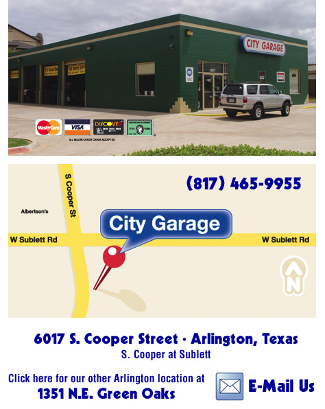 City Garage Coppell Texas